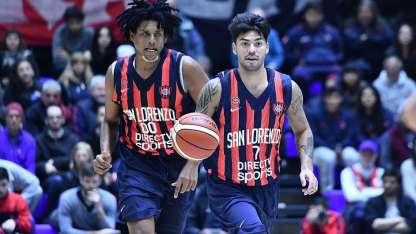 San Lorenzo, bicampeón de la LNB, se medirá contra Bahía Basket.