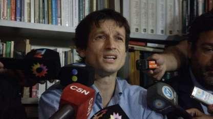 Diego Lagomarsino, siempre en la mira de la Justicia.
