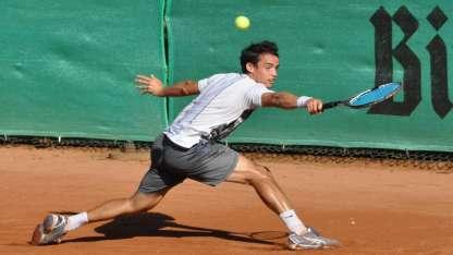 El jugador, de 25 años, está 97mo. en el ránking ATP. Archivo