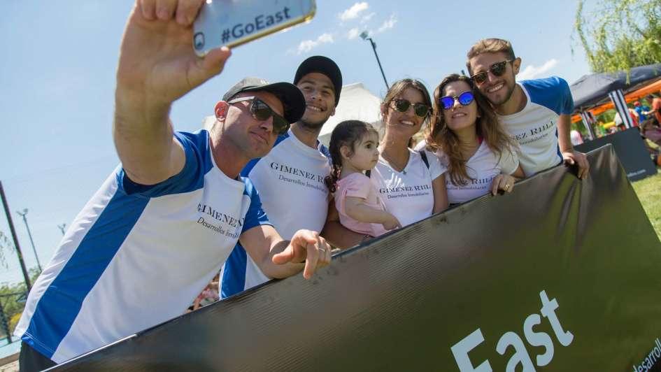 Gran edición de la carrera Circuito Giménez Riili