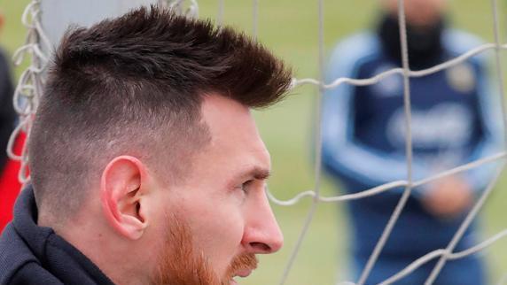 Messi y la selección ya se aclimatan al frío de Rusia
