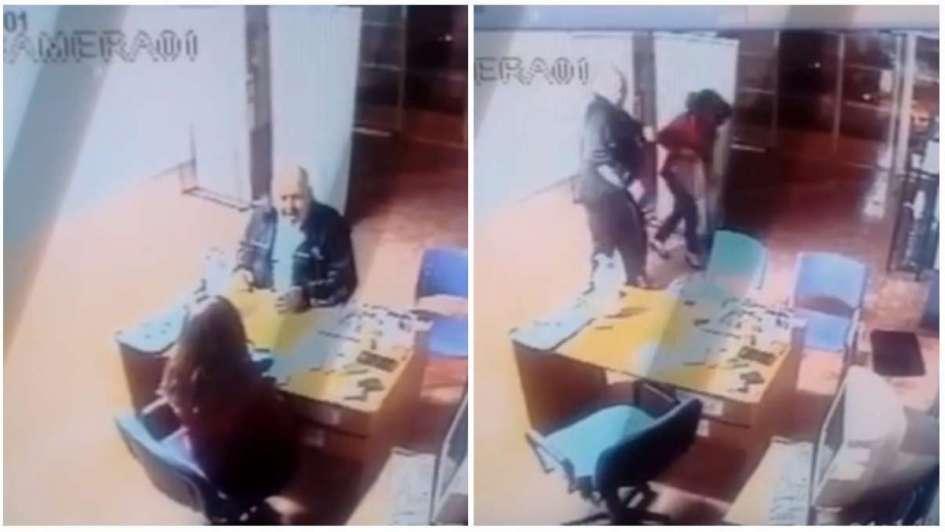 Un funcionario de Anses golpeó a una empleada — Video viral
