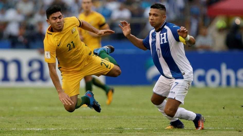 Australia logró un valioso empate ante Honduras
