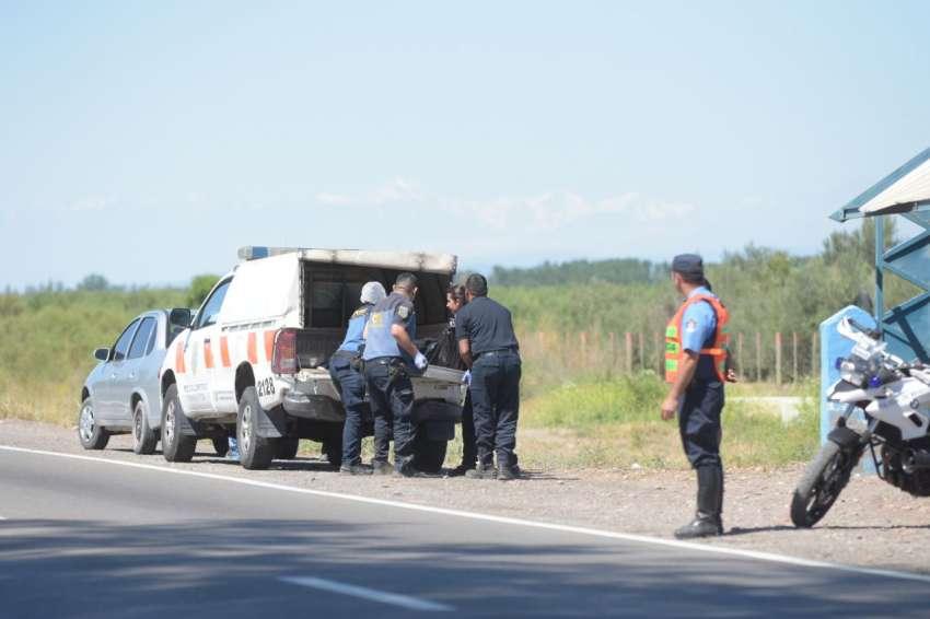 Un auto volcó en Lavalle — Accidente fatal