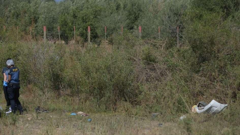 Tragedia en la ruta 40: volcó un auto y un hombre murió