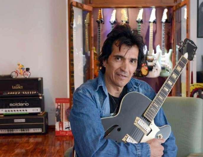 Foto 360: Felipe Staiti, guitarrista y productor