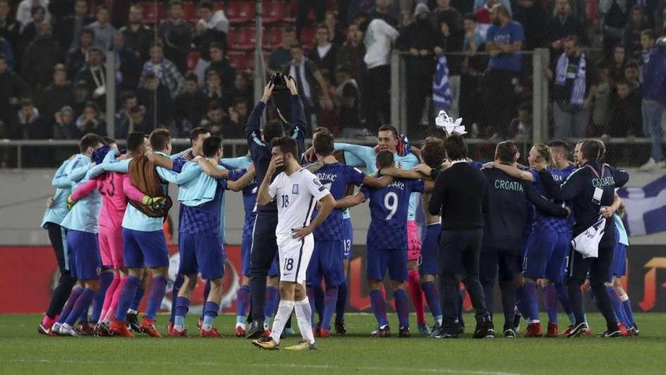 Croacia empató y es otro de los clasificados al Mundial