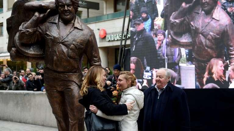 Bud Spencer ya tiene una estatua en Budapest