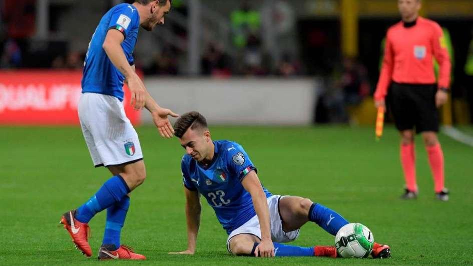 Italia, afuera del Mundial