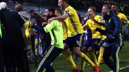 Los jugadores y su desenfrenada celebración/AFP