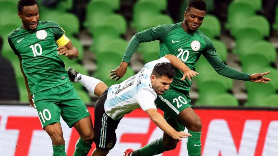 Argentina marca claras diferencias ante una irreconocible Nigeria