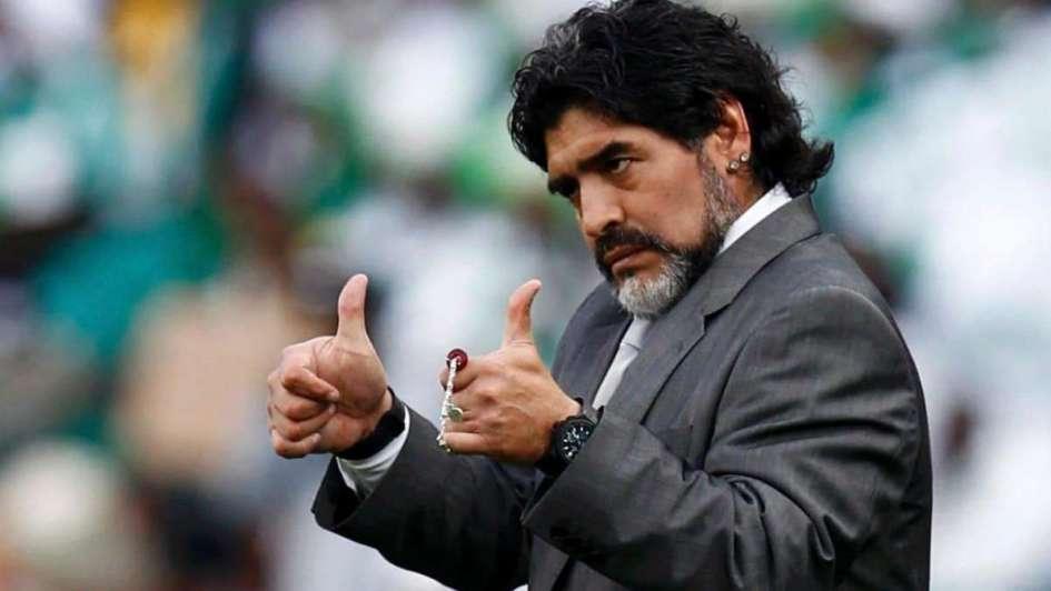 ¿Maradona, técnico de la selección?