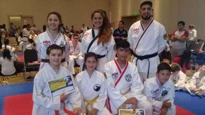 Los alumnos de la academia Sohgahm Ata salieron campeones nacionales en el último torneo.