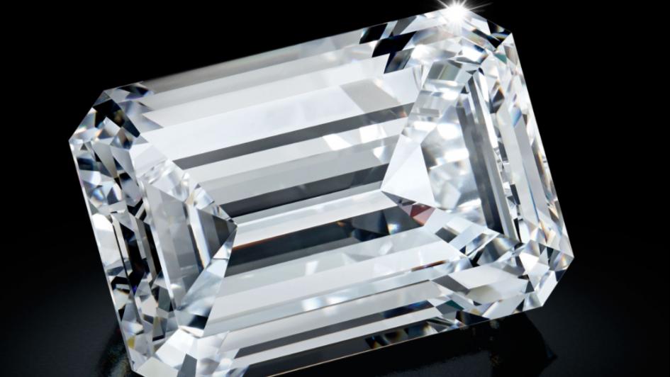 Récord mundial: subastaron en casi u$s34 millones un diamante de 163,41 kilates