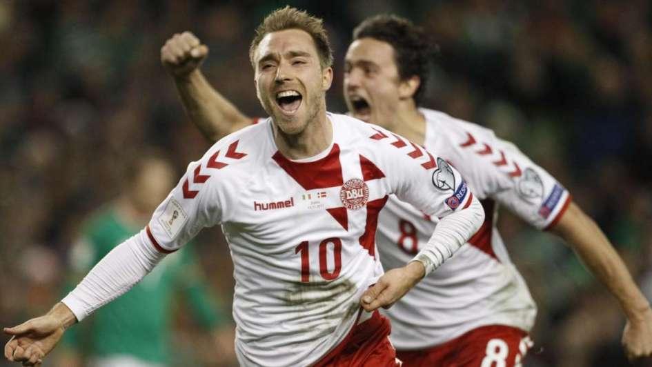 Dinamarca es el último europeo clasificado al Mundial