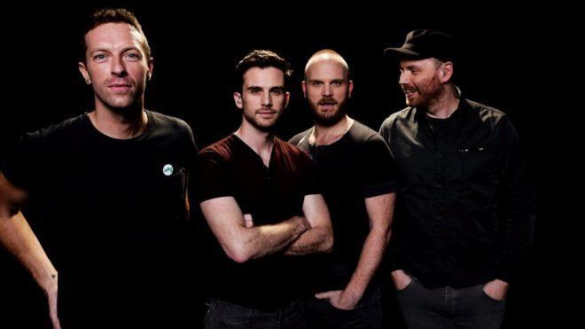 Coldplay probó su sonido e interpretó a