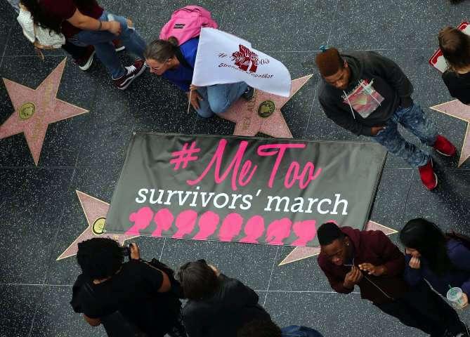 Marcha en Hollywood contra los abusos