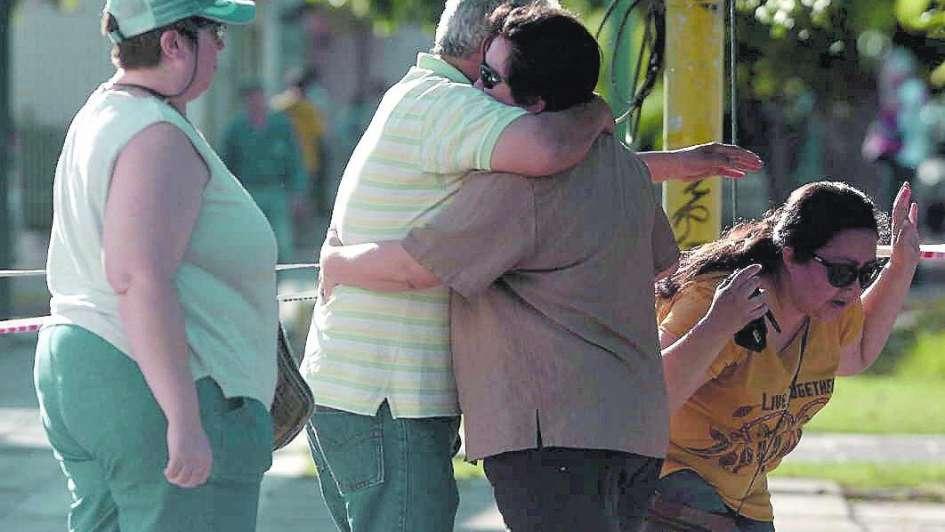 Heroico enfermero murió al salvar a un anciano en un derrumbe