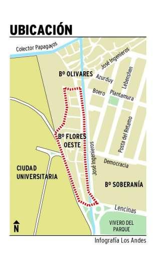 Avanza plan de urbanización del Flores y Olivares