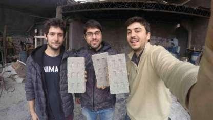 Fabián Saieg, Leandro Lima y Leandro Miguez son los fundadores de EcoInclusión