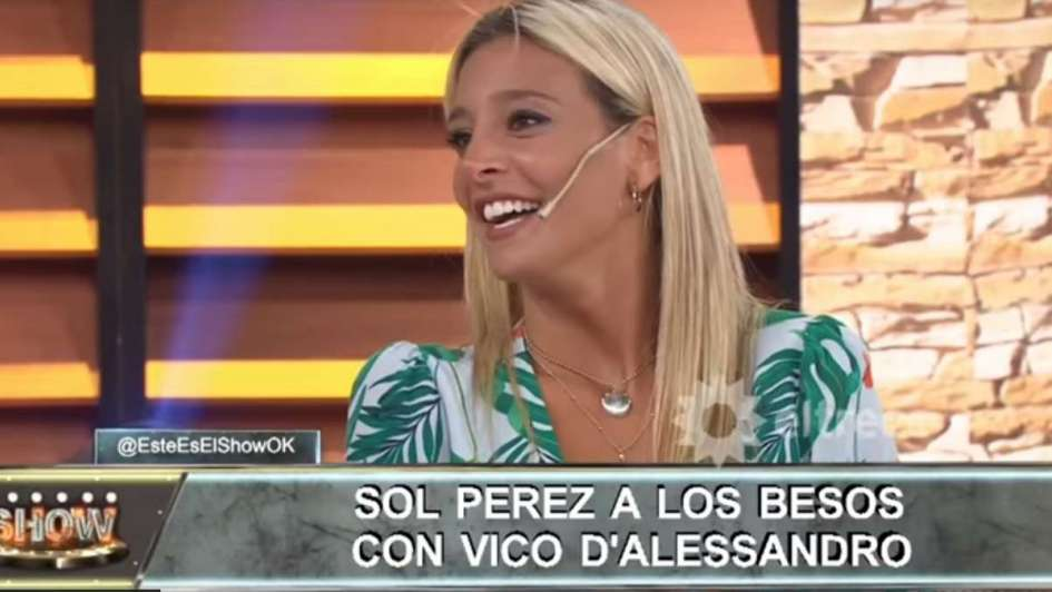 Sol Pérez, Majo Martino y un tenso momento por Vico D'Alessandro