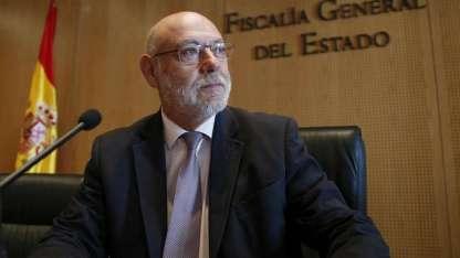 Maza, de 66 años, estaba por cumplir un año como fiscal general de España