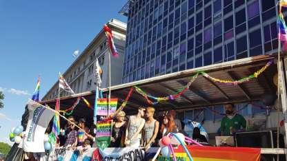 La 26° edición de la Marcha del Orgullo colmó las calles de Buenos Aires