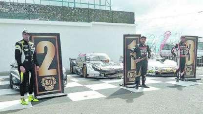 En un circuito complejo, donde no abundan los sobrepasos, Di Palma reafirmó sus chances para el título.