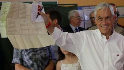 Sebastián Piñera se imponía en las elecciones generales en Chile.