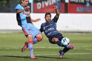 Por primera vez, Cristian Lucero fue titular en Independiente.