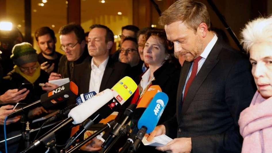 Fracasan conversaciones para formar Gobierno de coalición en Alemania