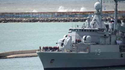 Uno de los buques abocados a la búsqueda del ARA San Juan