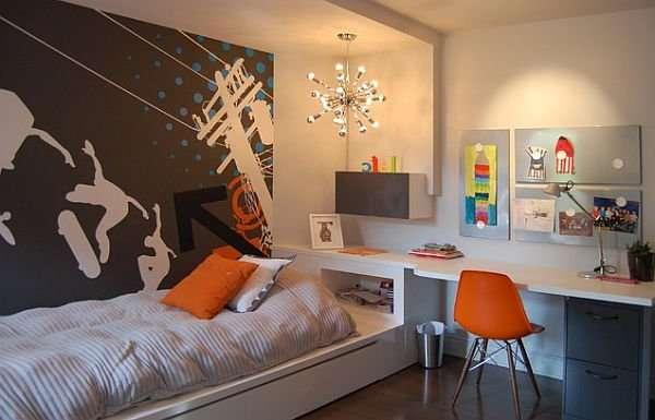 ideas de dormitorio con temática de fútbol Ideas Para El Gran Desafo De Decorar Un Dormitorio Para