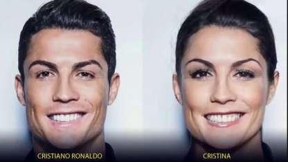 Cómo serían las grandes estrellas del fútbol si fuesen mujeres