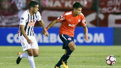 El Rojo cae en Paraguay en el partido de ida.