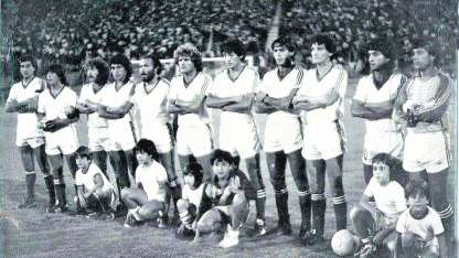 Bravo, Moyano, Próstamo, Lucero, Pérez, Berta, Blanco, Bachino, Bordón, Gómez y Martínez.