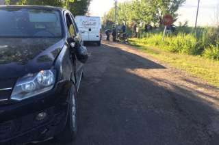 El choque en Alvear dejó un muerto y dos heridos.