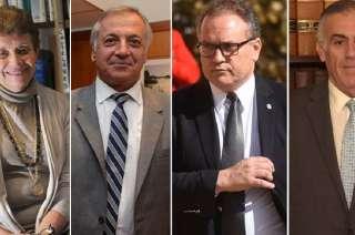 Aída Kemelmajer de Carlucci, Alejandro Gullé, Gianni Venier y Carlos de Casas.
