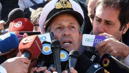 El vocero de la Armada, Enrique Balbi, brinda detalles del ruido detectado tres horas y media después del último contacto.