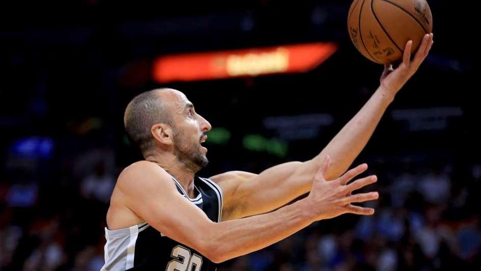 Cayeron los Spurs en una noche para el olvido de Ginóbili
