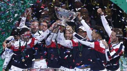 Francia levantó por décima vez la Copa Davis-