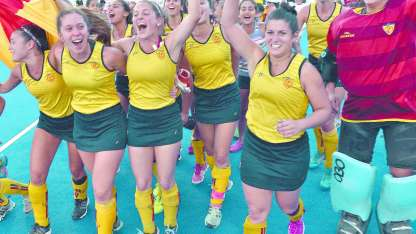 Las de Villa Nueva tiene sobrados motivos para celebrar a fin de año: ganaron los dos títulos del 2017 en la rama femenina.