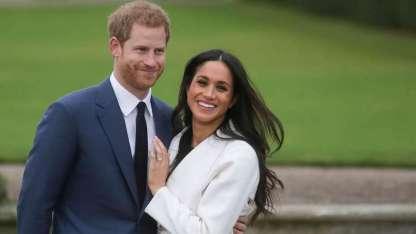 PríncipeEnriquede Inglaterra y Meghan Markle