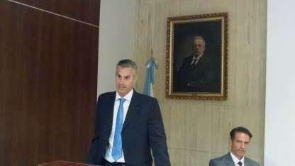El director del hospital Lagomaggiore, Mario Bustos Guillén.
