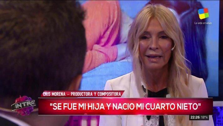 Cris Morena, sobre la pérdida de su hija: