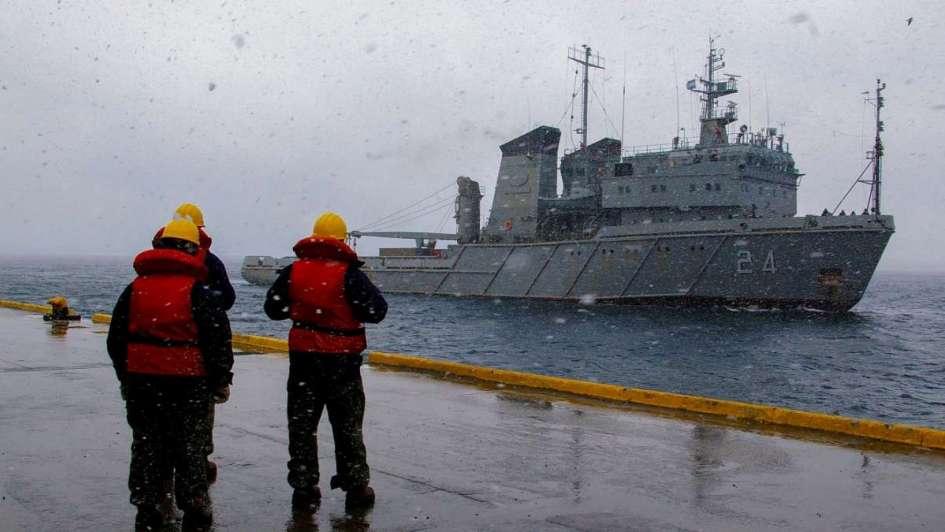 Armada Argentina por submarino: