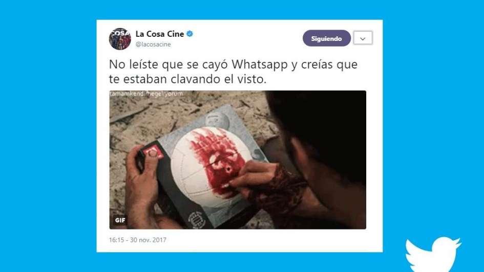 Mirá los mejores memes tras la caída de WhatsApp