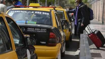 El equipo de gas ya es un problema para guardar la maletas, según los taxista la silla les traería mas problemas.