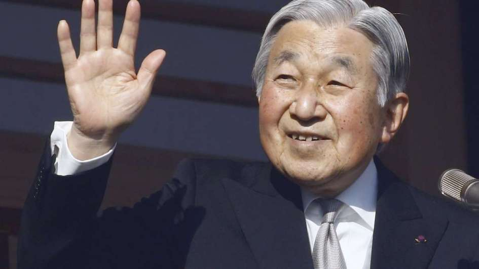 Japón anuncia que el emperador Akihito abdicará el 30 abril de 2019