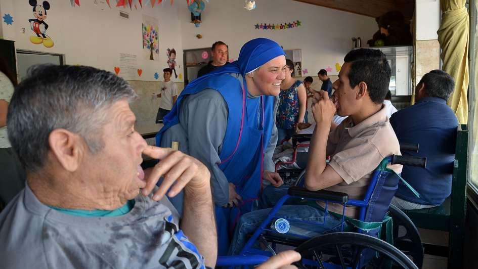 Habilitan un nuevo pabellón en el hogar San Martín de Tours en San Rafael